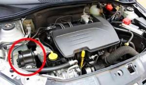 coxins e suporte do motor